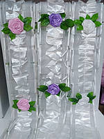 Стрічка гофра квіти