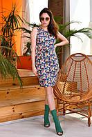 """Сукня жіноча молодіжний літній з принтом, розміри 44-50 """"INGHIR"""" купити недорого від прямого постачальника"""