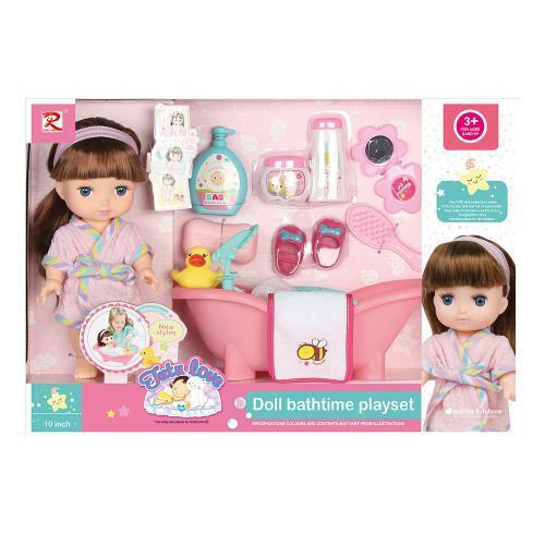 Лялька з ванною 8333