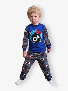 Дитяча піжама для хлопчика з малюнком Tik Tok кулір