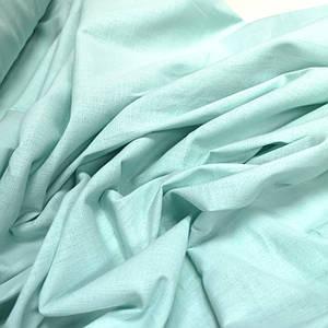 Ткань лен стрейч мята