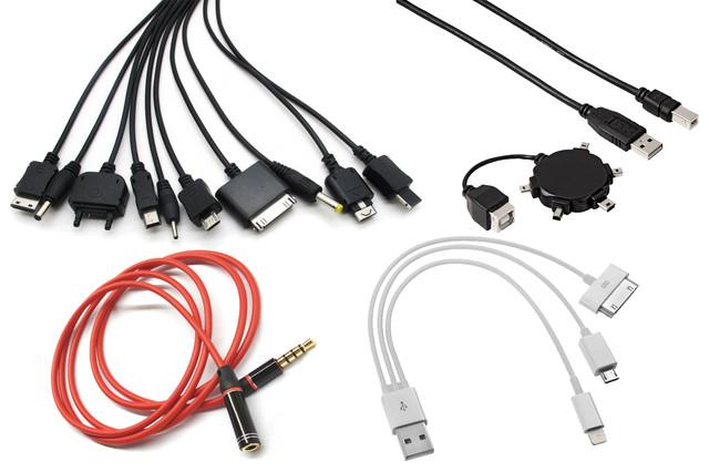 Переходники (аудио-адаптеры) для мобильных телефонов