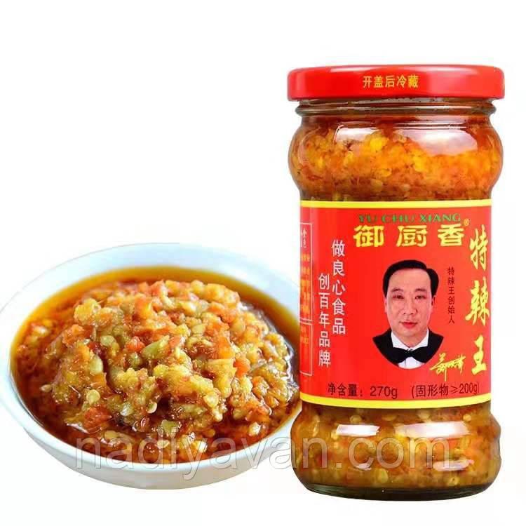Перцовая паста с имбирем  270г tm Yu Chu Xiang