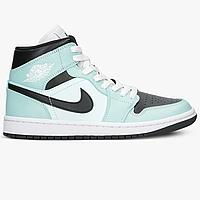 Оригинальные женские кроссовки Air Jordan 1 Mid (BQ6472-300), фото 1