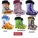 """Резиновые сапоги """"DEMAR""""  р.28-35, фото 5"""