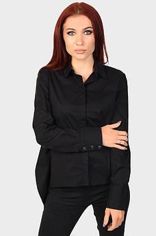 Рубашка женская черная AAA 122053M