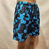 Чоловічі літні пляжні шорти є внутрішня сітка сині, фото 3