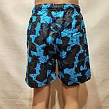 Чоловічі літні пляжні шорти є внутрішня сітка сині, фото 6