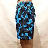 Чоловічі літні пляжні шорти є внутрішня сітка сині, фото 4