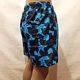 Чоловічі літні пляжні шорти є внутрішня сітка сині, фото 5