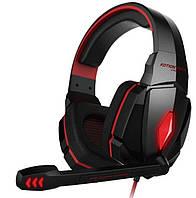 Наушники игровые KOTION EACH LED G4000, черно-красные