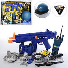 Поліція Великий набір Спец операція - автомат, шолом, маска, ніж, наручники та ін 33550
