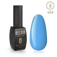 Гель Лак MILANO 8 Мл № 054 (Голубой Кролик)