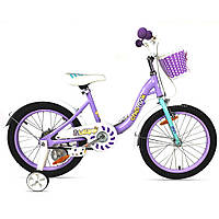 """Велосипед детский RoyalBaby Chipmunk MM Girls 18"""", OFFICIAL UA, фиолетовый (ST)"""