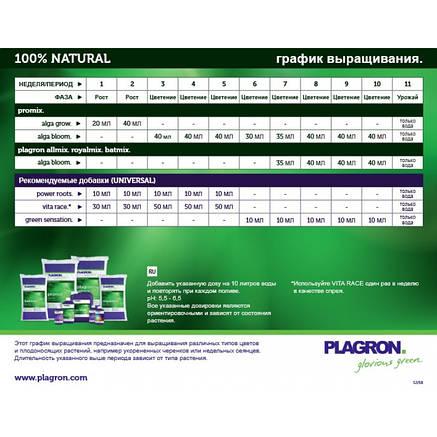 Органічне добриво на вегетативний період Plagron Alga Grow 100ml, фото 2