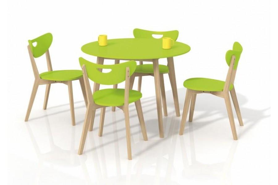Стол обеденный Peppita лимонный (Halmar TM)