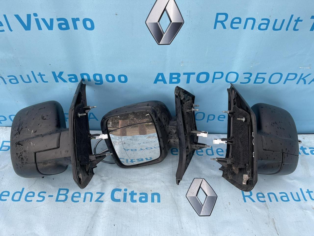 Дзеркало електро бічне Рено Трафік Renault Trafic 2014-2021 р. в.