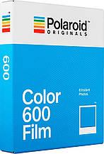 Фотопленка Касcета Polaroid 600 белая рамка / на складе