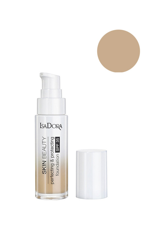 IsaDora Beauty Skin Perfecting&Protecting SPF35 Тональна основа для особи 03 nude