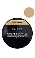 IsaDora Nature Enhanced Flawless Compact Foundation Мягкая легкая пудра 82 Natural Ivory
