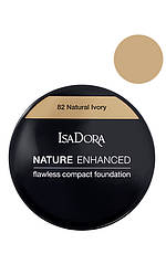 IsaDora Nature Enhanced Flawless Compact Foundation М'яка легка пудра 82 Natural Ivory