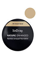 IsaDora Nature Enhanced Flawless Compact Foundation Мягкая легкая пудра 84 Cream Sand