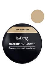 IsaDora Nature Enhanced Flawless Compact Foundation М'яка легка пудра 84 Cream Sand