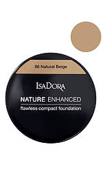 IsaDora Nature Enhanced Flawless Compact Foundation М'яка легка пудра 86 Natural Beige
