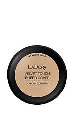 IsaDora Velvet Touch Sheer Cover Пудра Компактна 44 Warm Sand