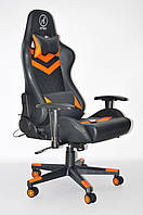 Кресло геймерское, компьютерное Avko Style AG70670 Black / Green RGB
