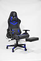 Кресло геймерское, компьютерное Avko Style AG72810 Black / Blue RGB