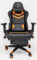 Кресло геймерское, компьютерное Avko Style AG72840 Black / Orange RGB