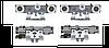 Комплект роликов для раздвижных дверей Tormax Windrive 2201