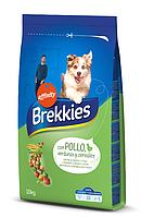 Сухой корм Brekkies Dog Chicken 10 кг для собак всех пород