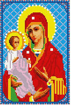 """Набір алмазної мозаїки 20х30 """"Матір Божа з Ісусом"""" DT717"""