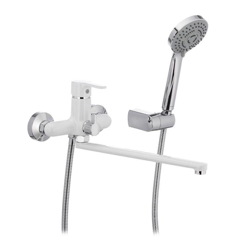 Змішувач для ванни IBERGRIF SQUARE M13122W (IB0035)