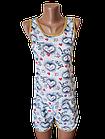 Піжами жіночі шорти футболка бавовна Україна р. 42. Від 3шт за 62грн, фото 2