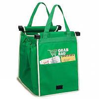 Прочная, вместительная сумка для покупок (2 в 1)