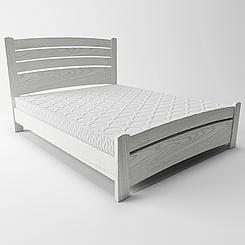 Ліжко дерев'яне двоспальне Сідней 3 (масив ясеня)