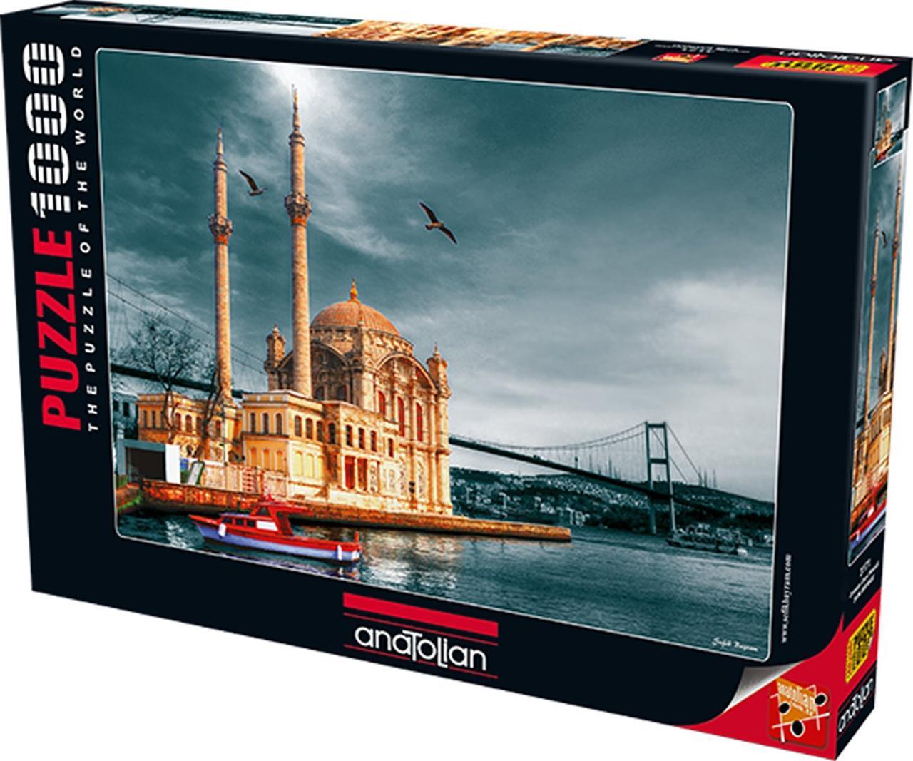 Пазлы 1000 элементов Мечеть Ортакёй (Ностальгия) 3171 Anatolian