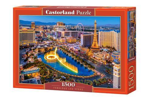 "Пазли 1500 елементів ""казковий Лас~Вегас"", C~151882 | Castorland"