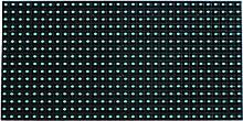 Светодиодные модули P10 Зеленый негерметичный