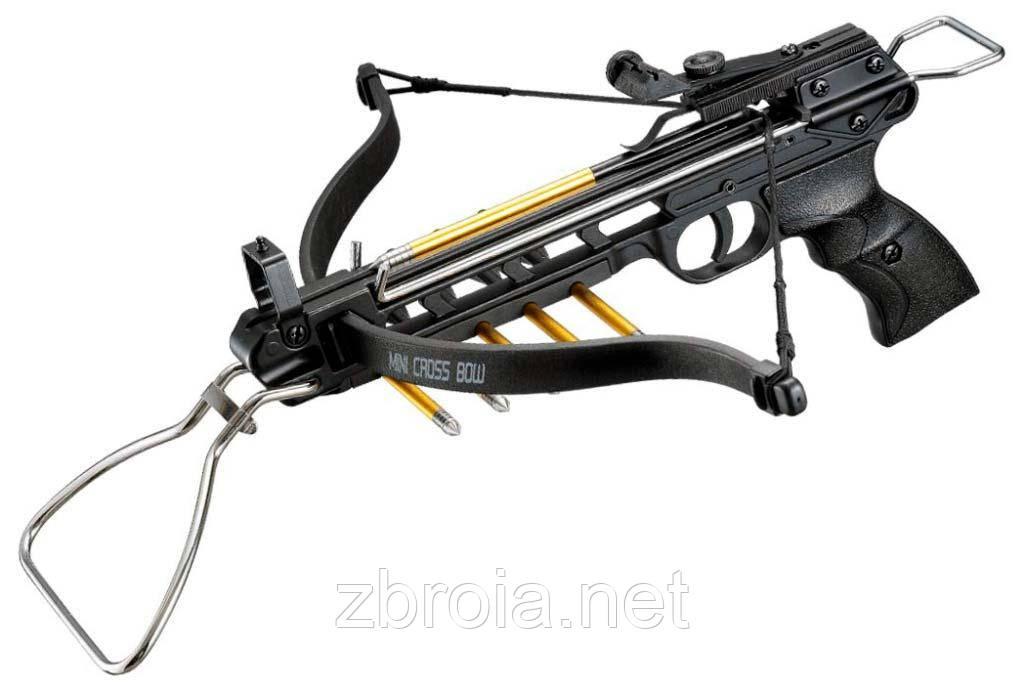 Арбалетм Man Kung MK-80A3 чорний