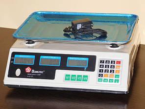 Весы торговые электронные до 50 кг Domotec MS-228, фото 2