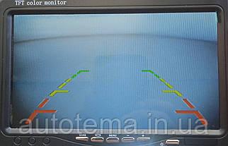 Монітор 7 дюймів автомобіль для камери заднього ВИДУ