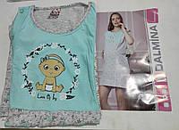Ночная рубашка сорочка для кормления с 40 по 50р хлопок Турция