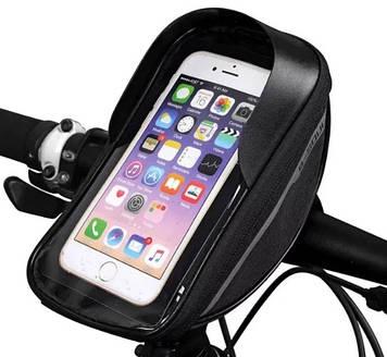 Велосумка на руль велосипеда для смартфона