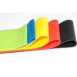 Гумки для фітнесу і спорту (стрічка еспандер) гумові петлі для ніг/рук/сідниць набір 5шт OSPORT (OF-0021), фото 9