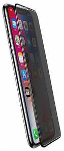 Захисне скло для iPhone 11 Pro Max/XS Max 2.5 D Privacy Matte Антишпигун black тех. упак.