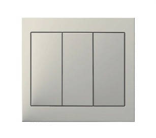 Выключатель 3-клавишный Berker K.1 полярная белизна, белый, фото 2